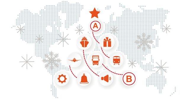 Otro año más, llevamos tus sueños... Luso Ibérica, te desea Felices Fiestas!